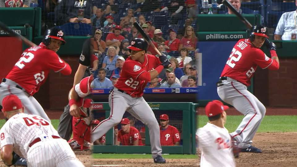Soto's historic multi-homer game