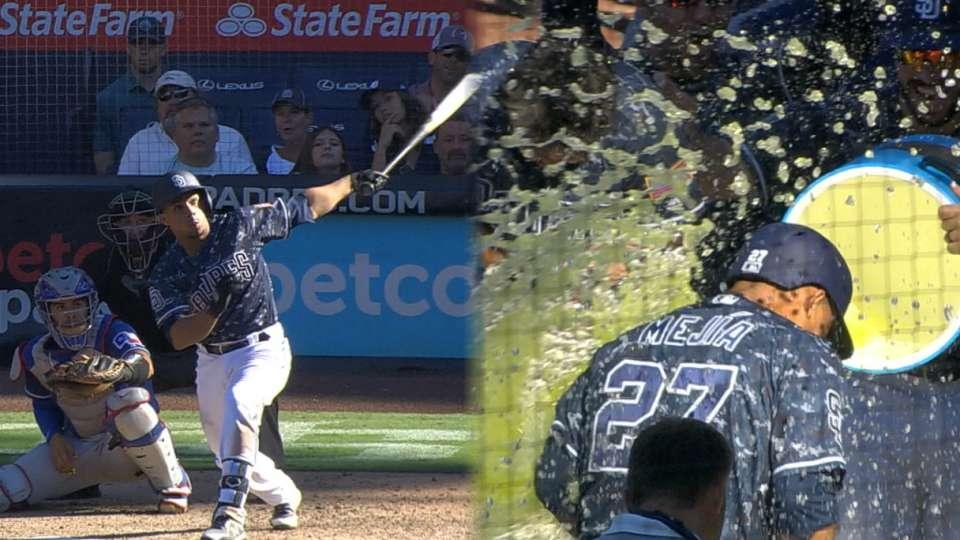 Mejia's walk-off grand slam