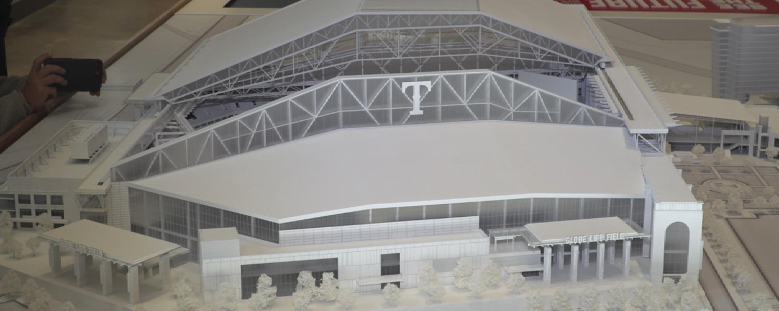 Rangers unveil new stadium model  9ee3d570e8d9