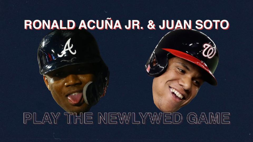 Acuna, Soto play Newlywed Game