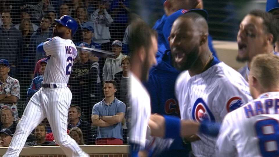 Heyward's walk-off grand slam