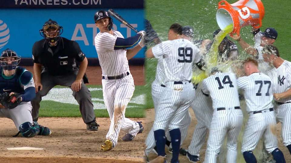 Stanton's walk-off home run