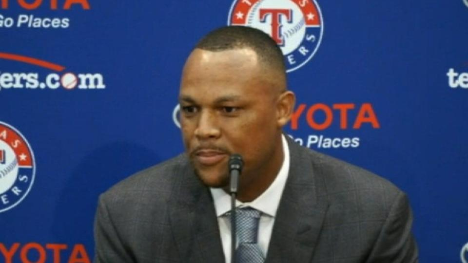 Beltre talks decision to retire