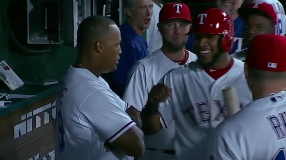 Beltre on having fun with Andrus