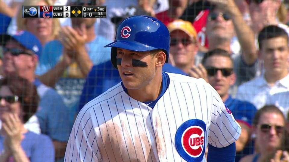 Rizzo's 1,000th career hit