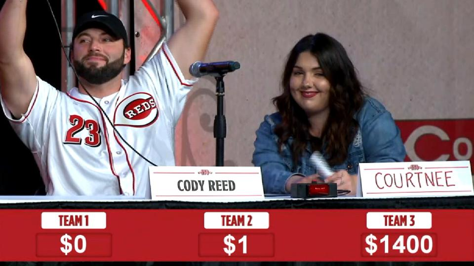 Reds play Jeopardy at Redsfest