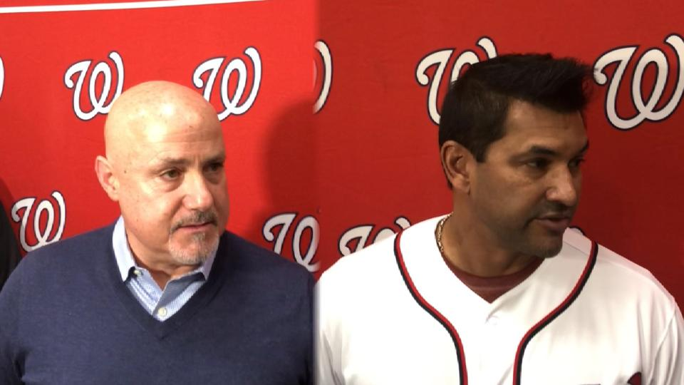 Rizzo, Martinez on Gomes
