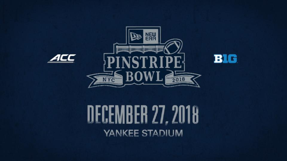 Hype for the 2018 Pinstripe Bowl