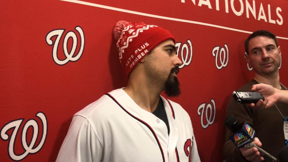 Rendon on possible extension