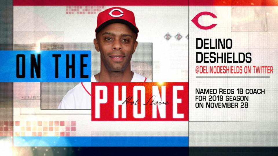 DeShields on joining Reds