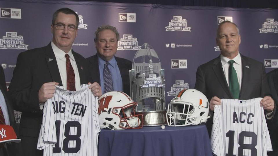 New Era Pinstripe Bowl Matchup