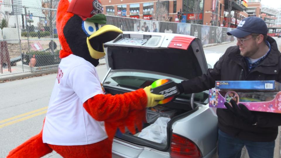 Cardinals Holiday Gift Drive