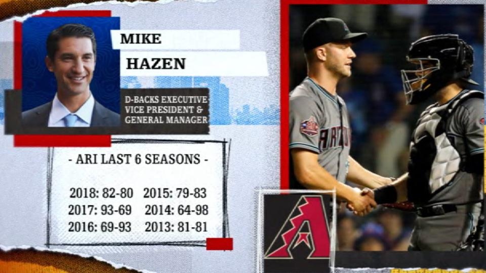Hazen says D-backs will compete