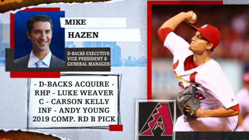 Hazen on return for Goldy