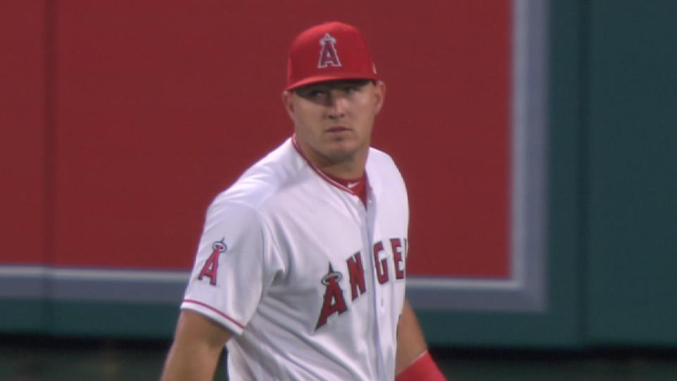 Trout's future with the Angels