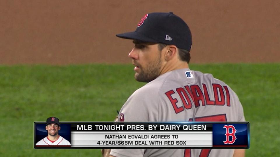 Red Sox, Eovaldi ink deal