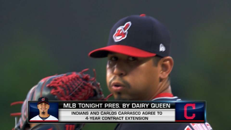 Tribe, Carrasco sign extension