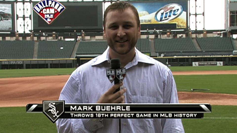 Buehrle chats with MLB Tonight