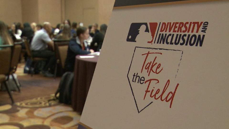 MLB hosts 'Take the Field' event