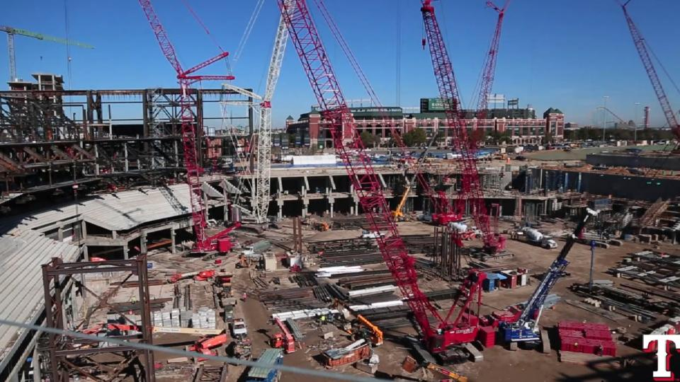 Globe Life Field construction  acd81fcc57f6