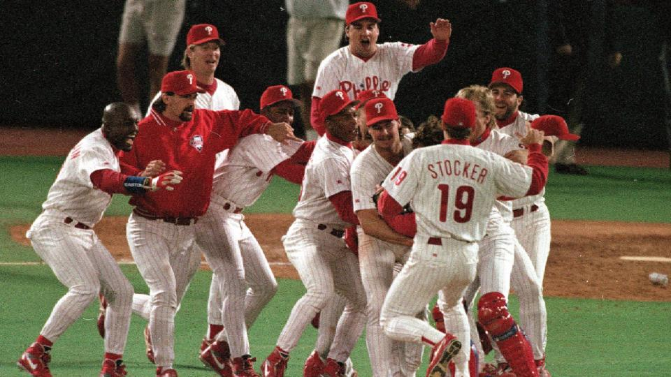 Stark on covering '93 Phillies