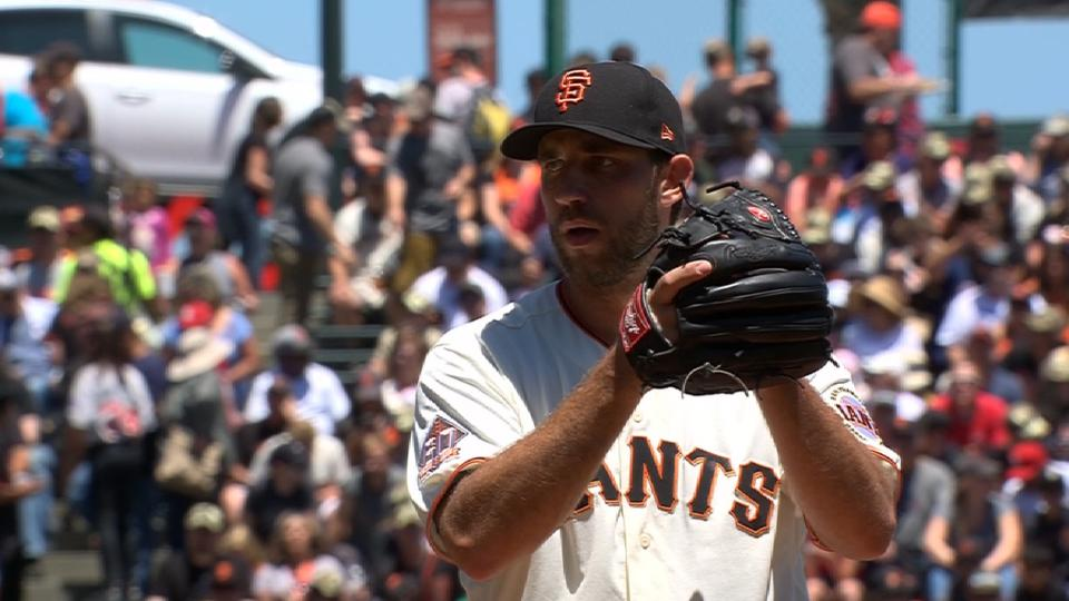 Bochy on Bumgarner's work ethic