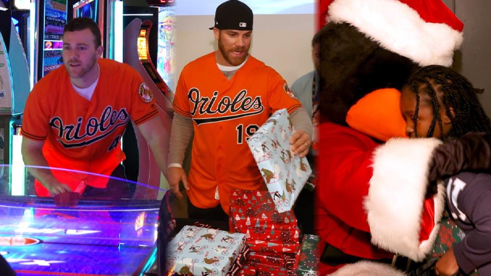 Orioles host Christmas party