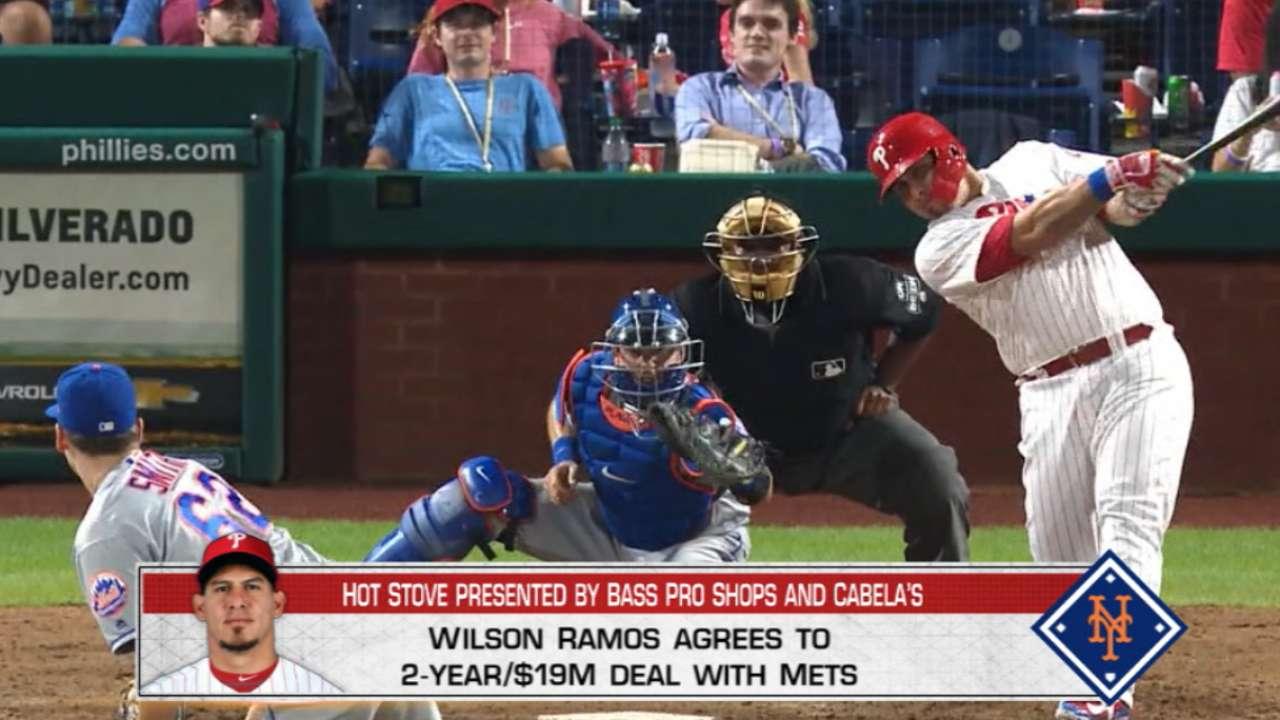 Mets Sign Catcher Wilson Ramos