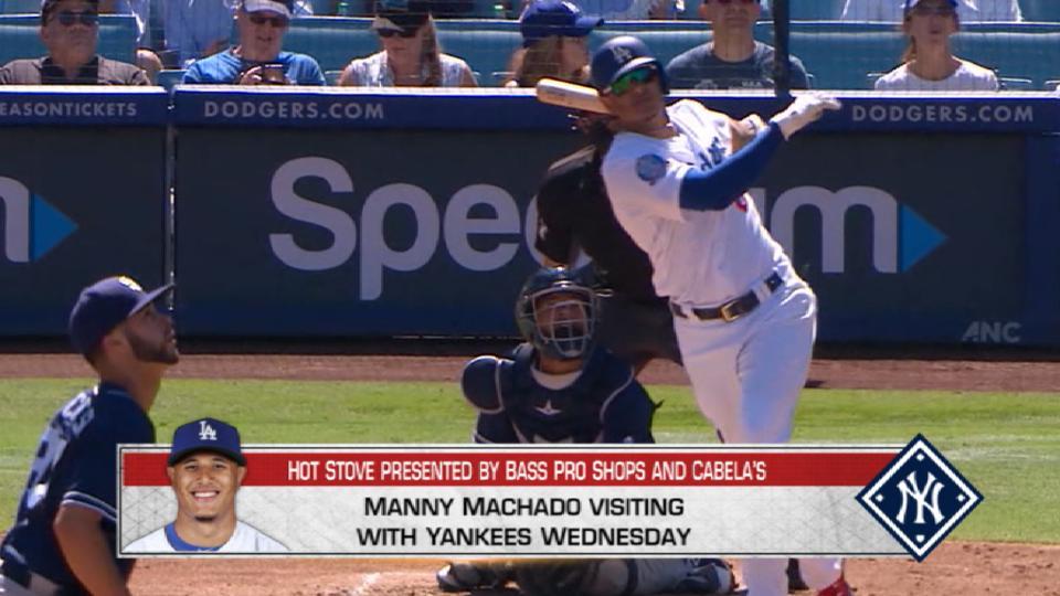 Yankees to meet with Machado