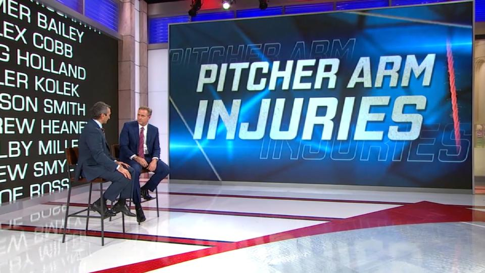 MLB Tonight: Pitcher injuries