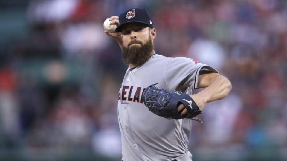 Padres in trade talks for Kluber
