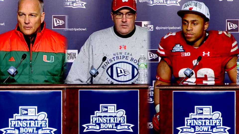 2018 Pinstripe Bowl Post Game