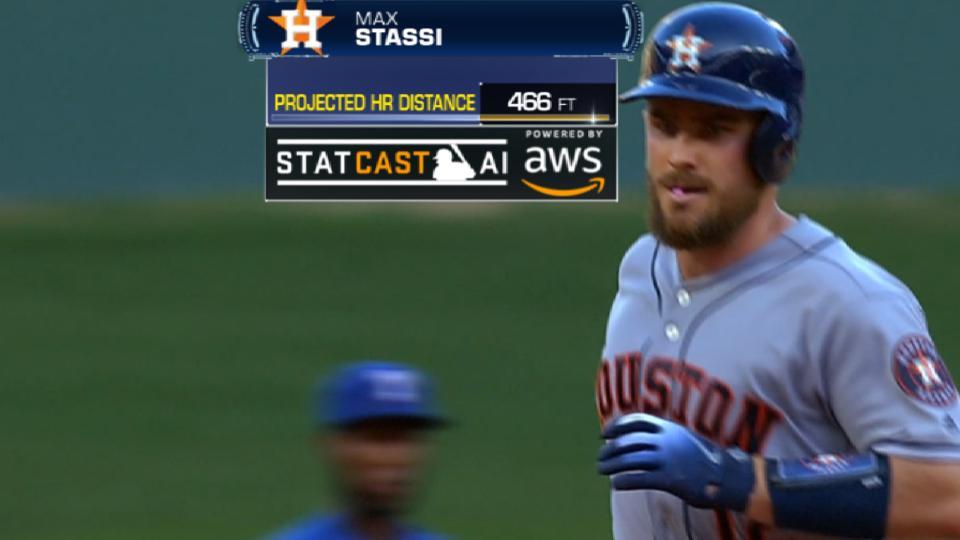 Statcast Longest Homers: Astros