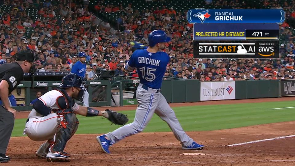 Statcast Long Homers: Blue Jays