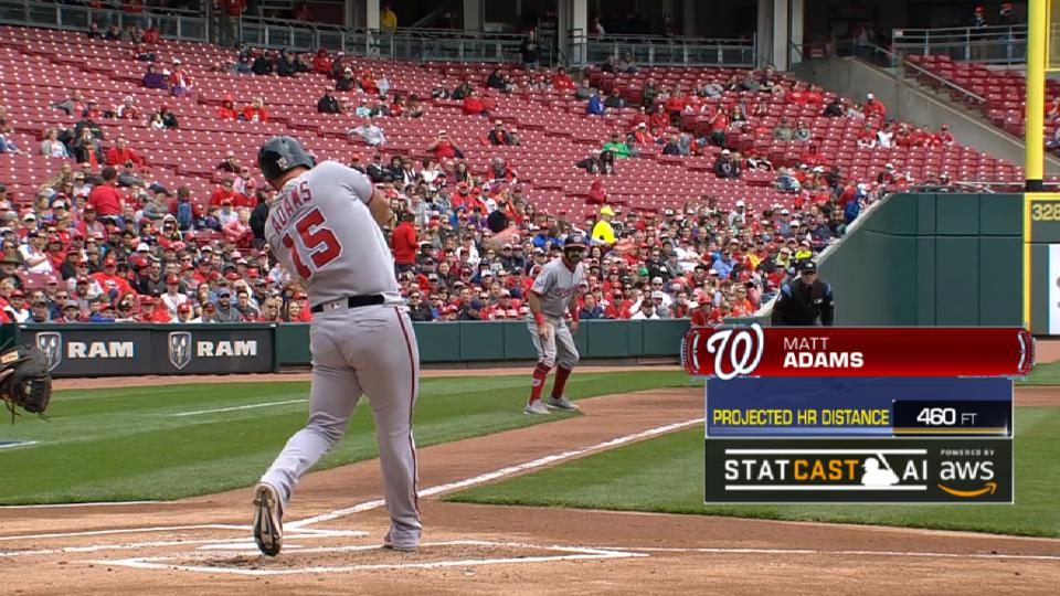 Statcast Long Homers: Nationals