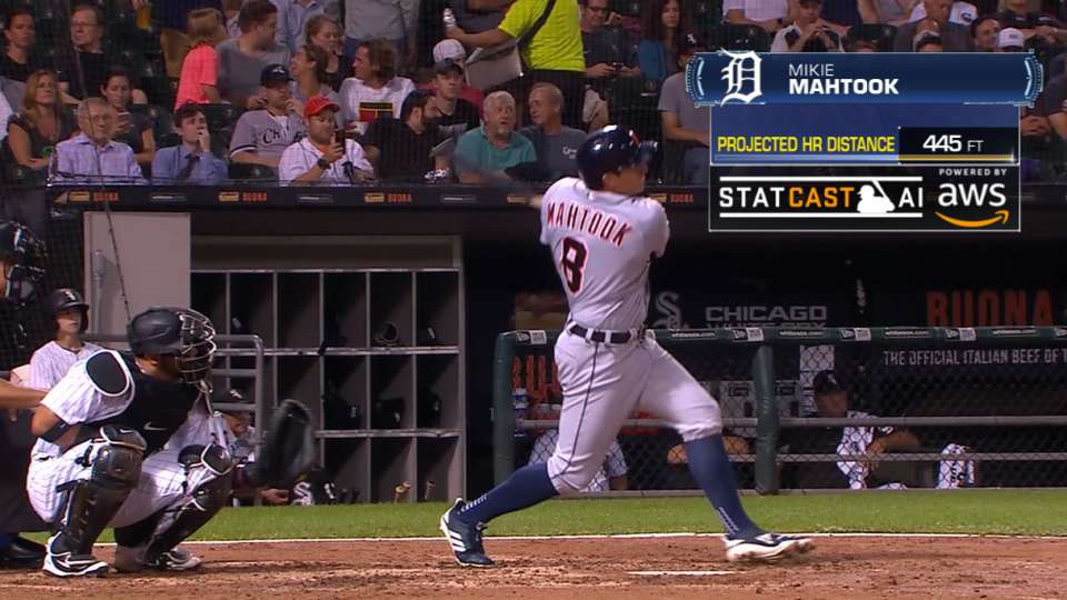Statcast Longest Homers: Tigers