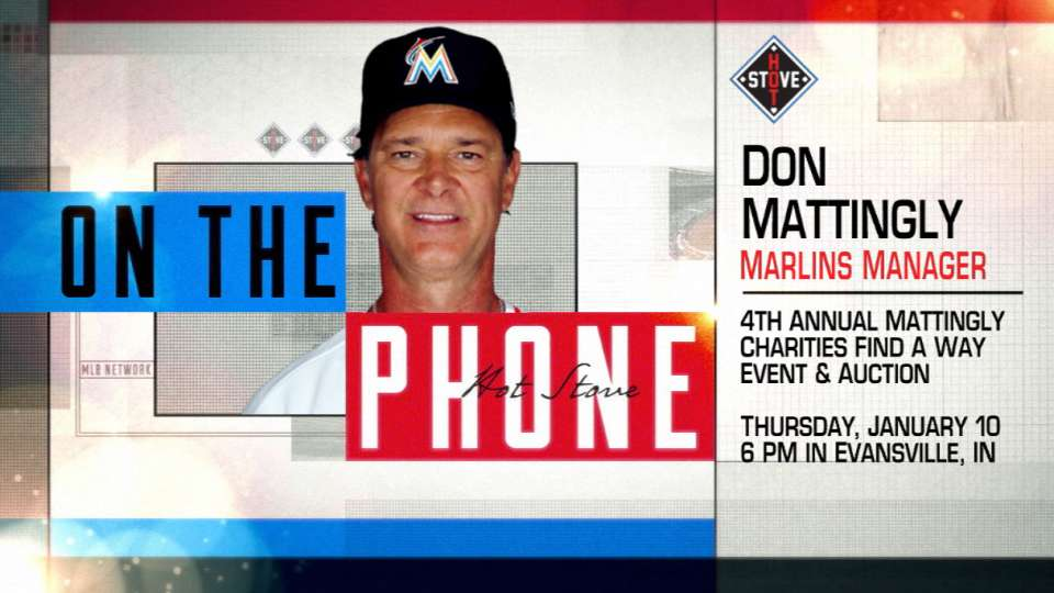Mattingly on charity auction