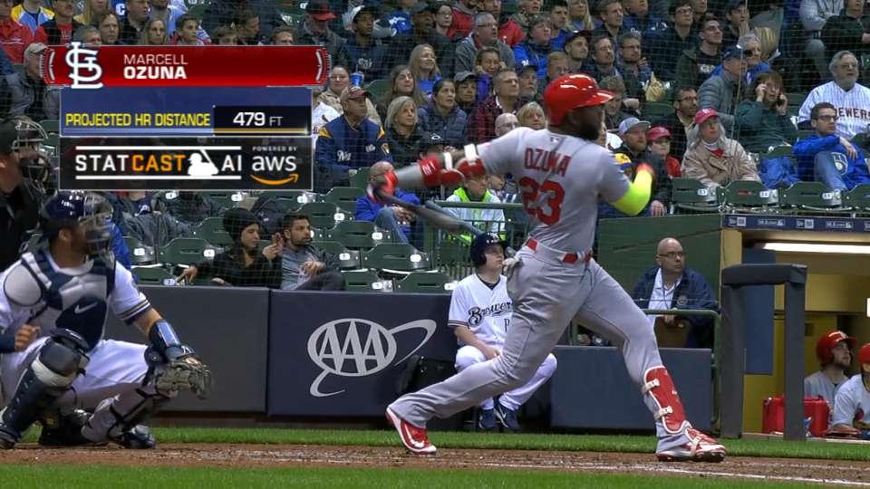 Statcast Long Homers: Cardinals