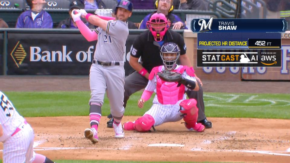 Statcast Longest Homers: Brewers