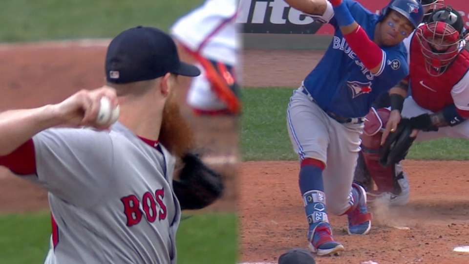 Kimbrel dominates with curve