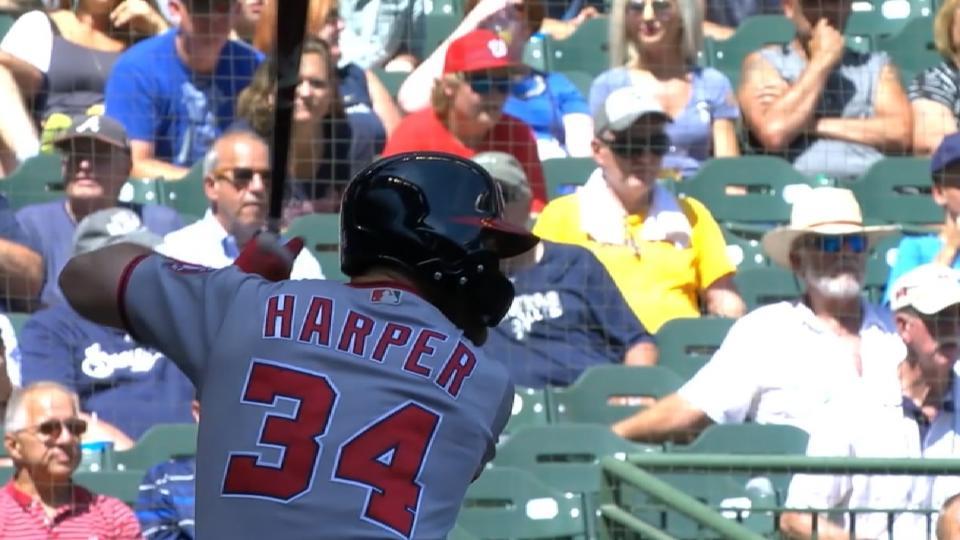 Could Nationals re-sign Harper?