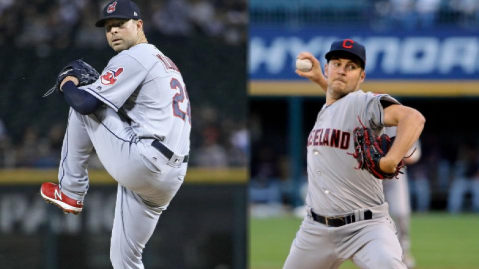 Will Tribe deal Kluber, Bauer?