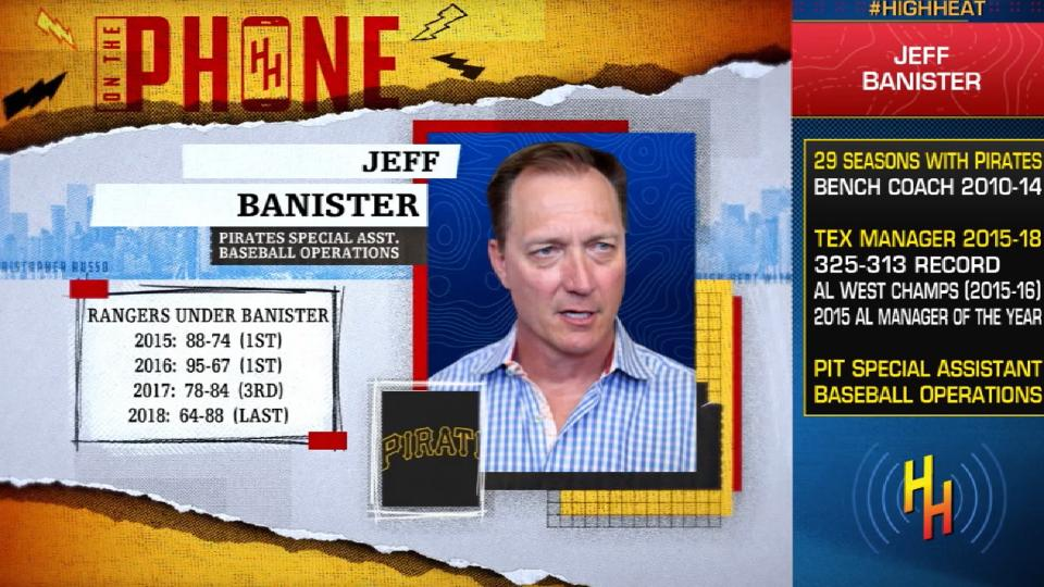 Jeff Banister joins High Heat