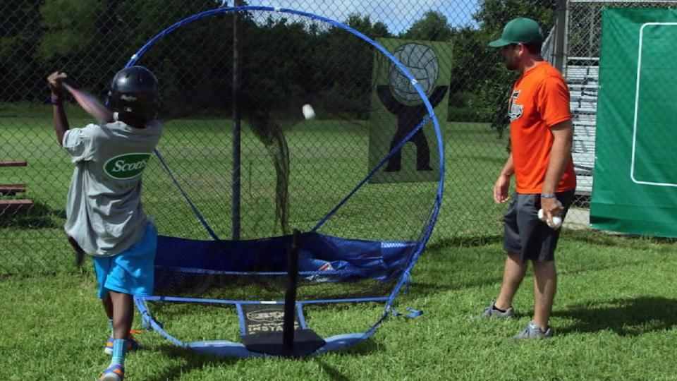 Astros help upgrade Moore Field