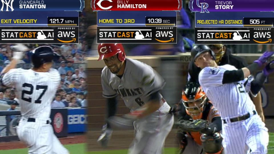 Statcast records set in 2018