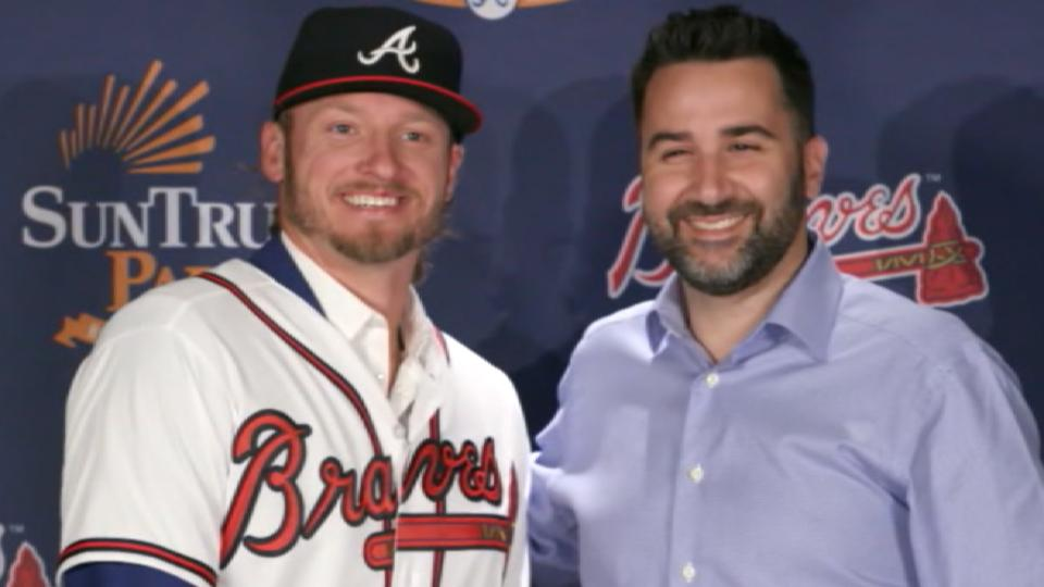 Anthopoulos on Braves' signings