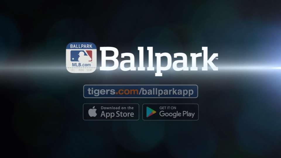 Use the MLB.com Ballpark App!