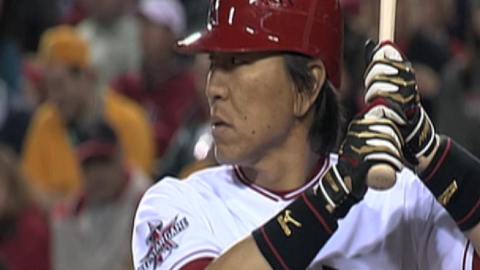 TV, radio call Matsui's walk-off