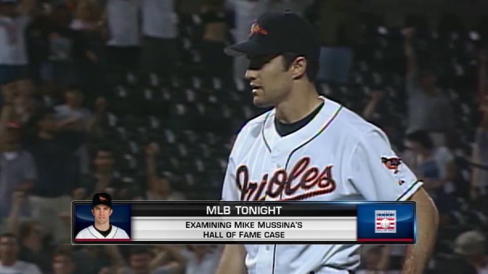 MLB Tonight: Mussina's HOF case