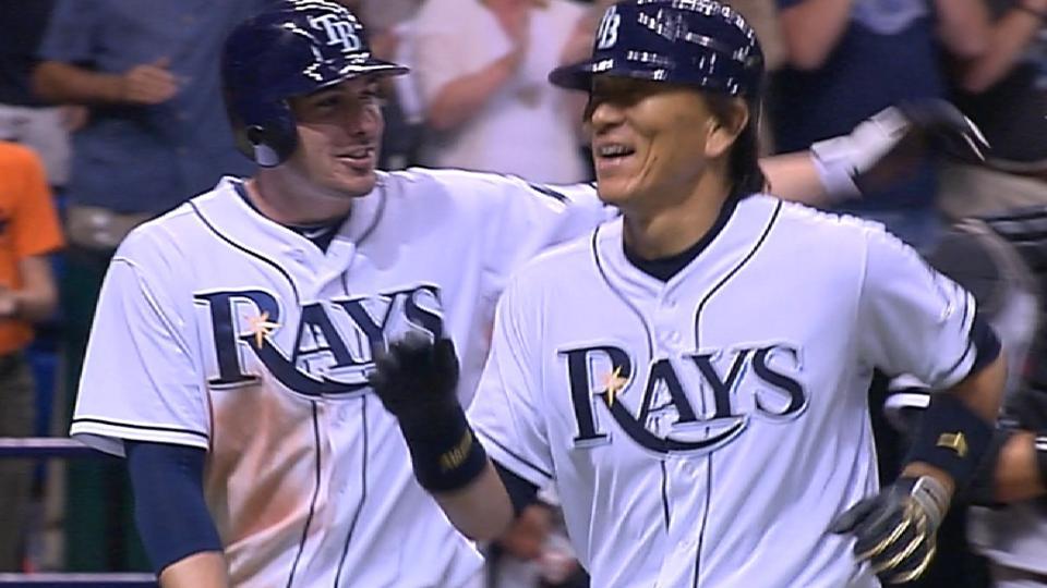 Matsui's two-run homer